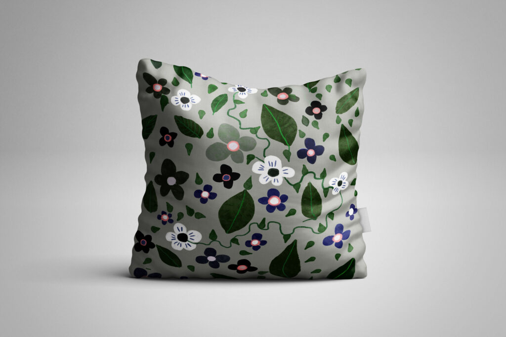 Square - Pillow Mockup (Freebie) by MassDream1